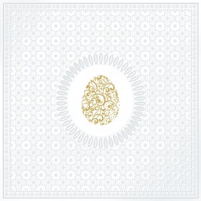Lunch Servietten Medaillon Egg pearl,  Sonstiges -  Sonstiges,   geprägte Servietten,   geprägte Servietten,  Ostern,  lunchservietten,  Eier
