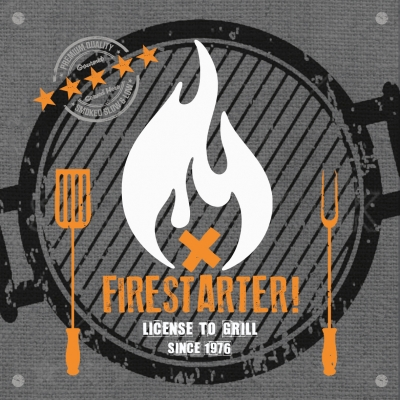 Lunch Servietten Firestarter anthracite
