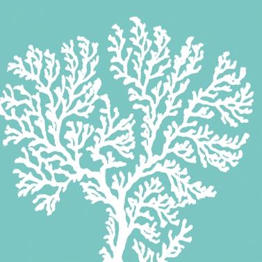 Servietten Sommer,  Tiere -  Sonstige,  Everyday,  lunchservietten,  Korallen