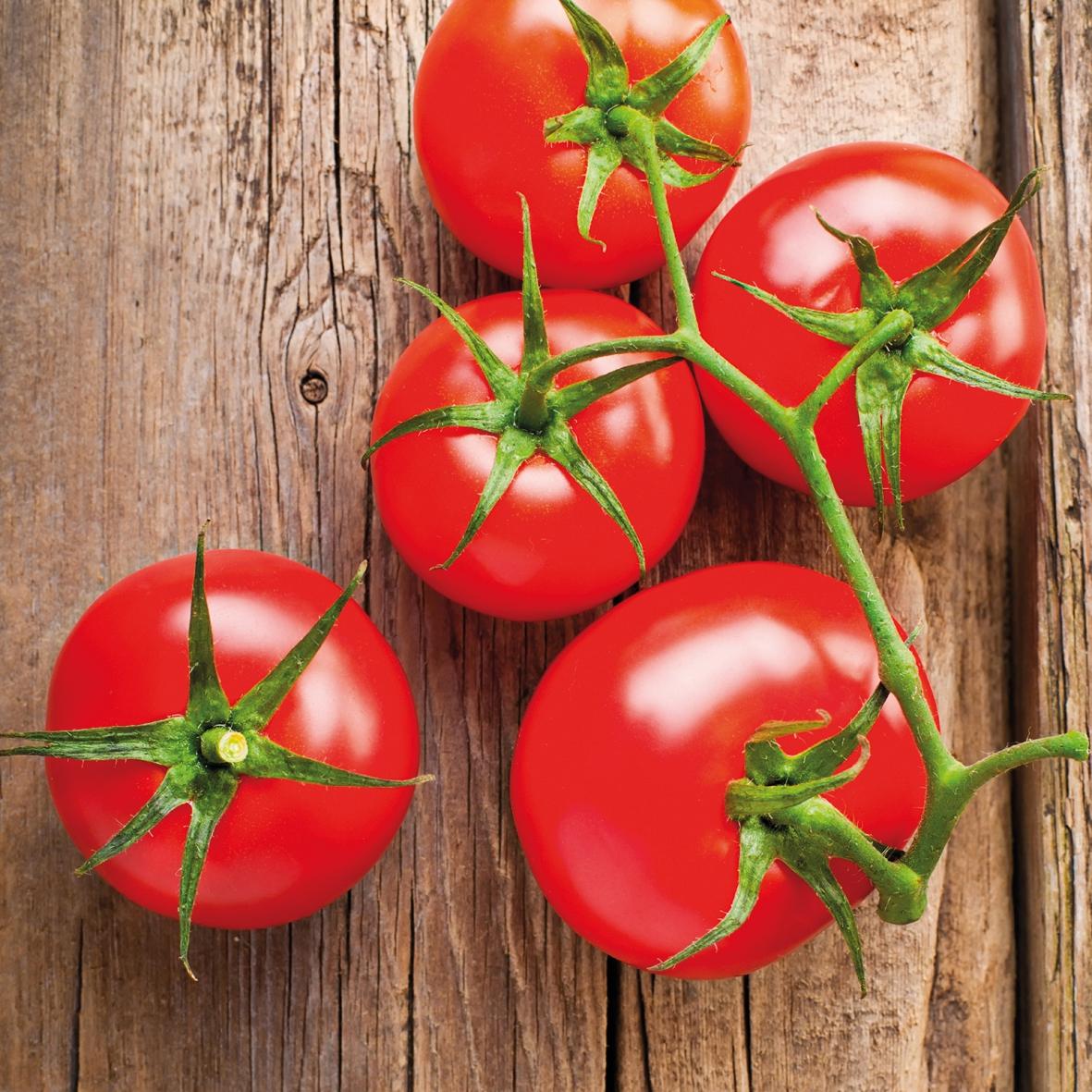 Lunch Servietten Tomato on Wood,  Gemüse - Tomaten,  Everyday,  lunchservietten,  Tomaten