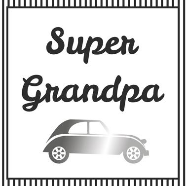 Lunch Servietten Super Grandpa