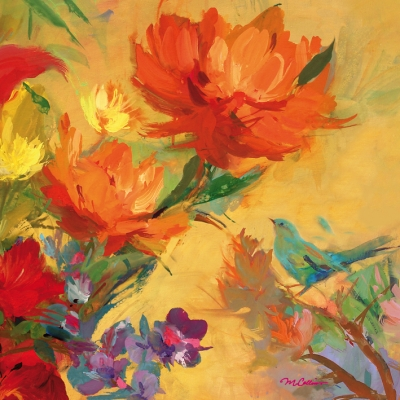 Servietten 33 x 33 cm,  Sonstiges - Bilder / Gemälde,  Everyday,  lunchservietten,  Blumen