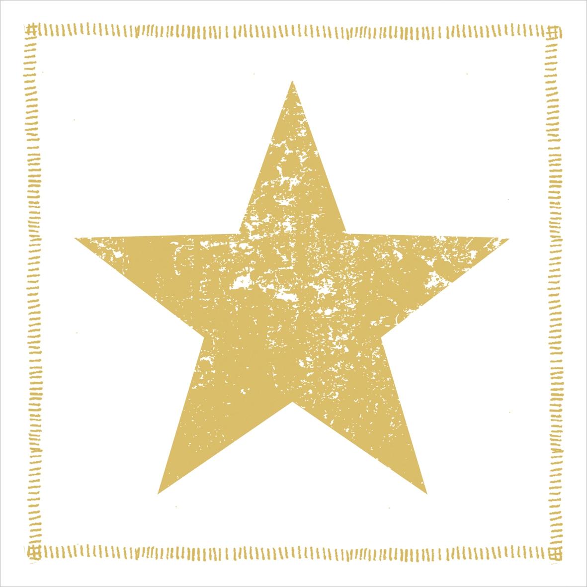 Lunch Servietten Star Fashion gold               ,  Weihnachten - Sterne,  Weihnachten,  lunchservietten,  Sterne