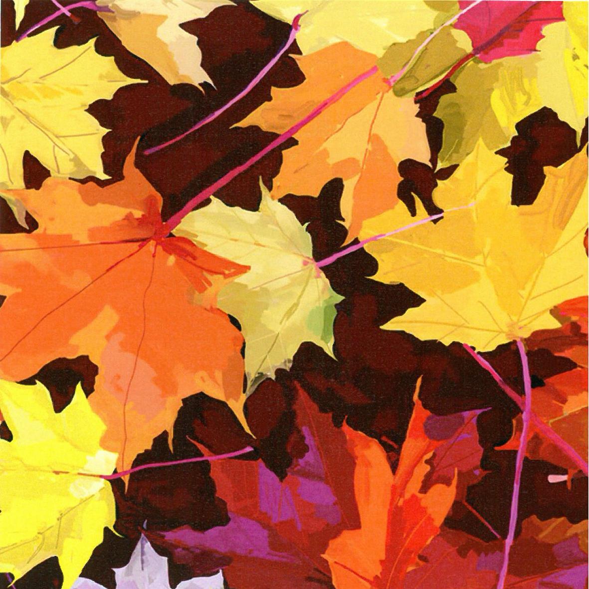 Lunch Servietten Martha´s Leaves,  Herbst - Blätter / Laub,  Herbst,  lunchservietten,  Laub