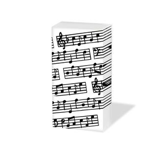 Taschentücher Music,  Sonstiges,  Everyday,  bedruckte papiertaschentücher