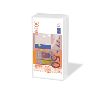 Taschentücher Euro,  Sonstiges,  Everyday,  bedruckte papiertaschentücher