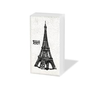 Taschentücher Paris,  Regionen,  Everyday,  bedruckte papiertaschentücher