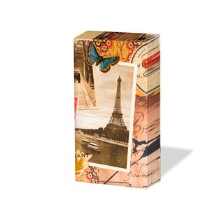 Taschentücher Paris,  Tiere,  Regionen,  Everyday,  bedruckte papiertaschentücher