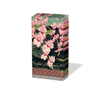 10 bedruckte Taschentücher ,  Blumen,  Everyday,  bedruckte papiertaschentücher