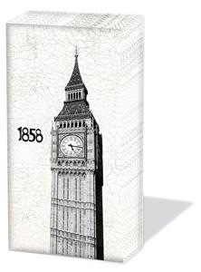 Taschentücher Big Ben,  Regionen,  Sonstiges,  Everyday,  bedruckte papiertaschentücher