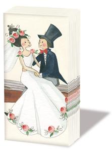 Taschentücher Wedding,  Ereignisse,  Everyday,  bedruckte papiertaschentücher,  Hochzeit
