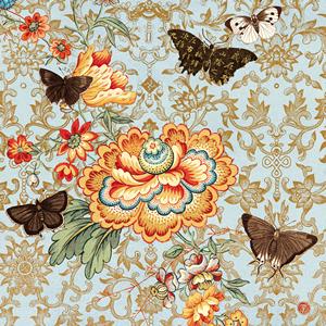 Lunch Servietten Cathay Rose,  Blumen -  Sonstige,  Tiere - Schmetterlinge,  Everyday,  lunchservietten