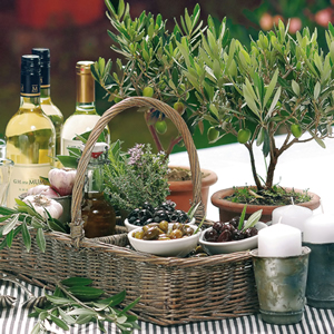 Lunch Servietten Tuscan Meal