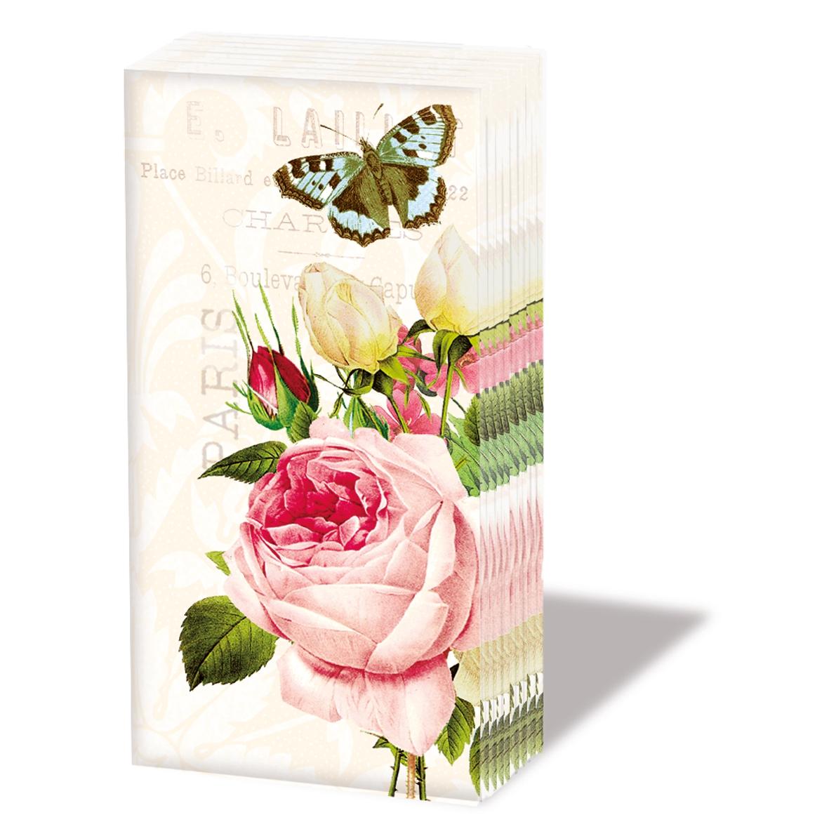 10 bedruckte Taschentücher ,  Sonstiges,  Blumen,  Everyday,  bedruckte papiertaschentücher