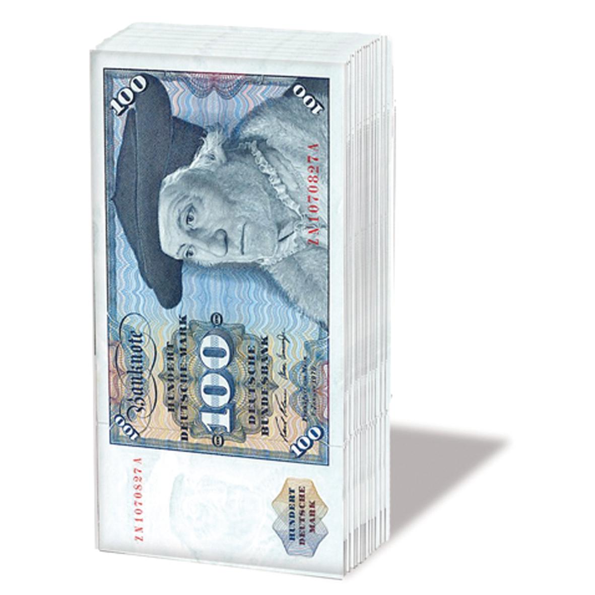 Taschentücher D-Mark,  Ereignisse,  Sonstiges,  Everyday,  bedruckte papiertaschentücher,  Geld