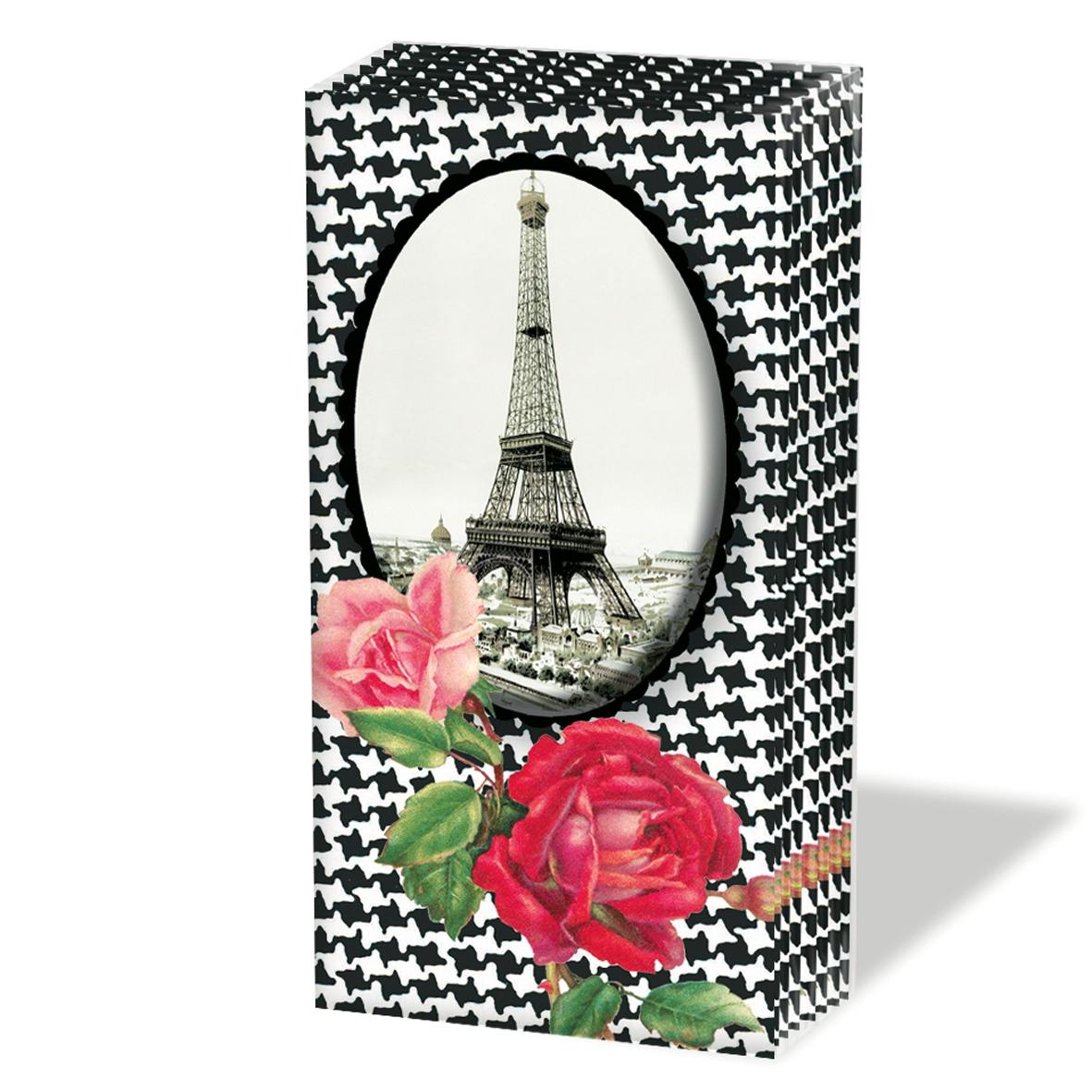 Taschentücher Tour Parisien,  Regionen,  Everyday,  bedruckte papiertaschentücher,  Paris,  Eiffelturm