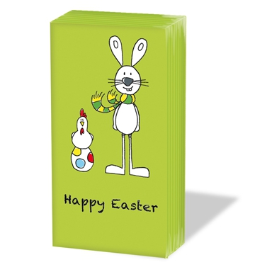 Taschentücher Happy Easter