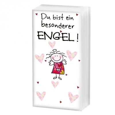 sniff,  Everyday,  bedruckte papiertaschentücher,  Engel,  Liebe