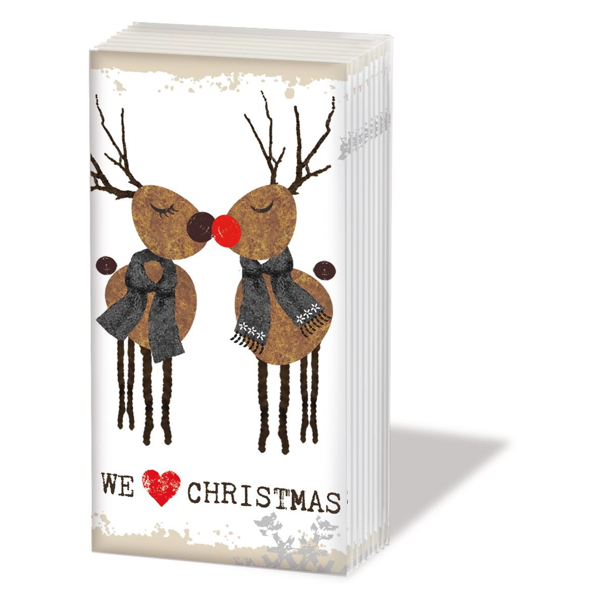 Taschentücher - Wir lieben Weihnachten