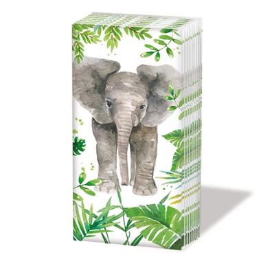 Taschentücher Tropical Elephant
