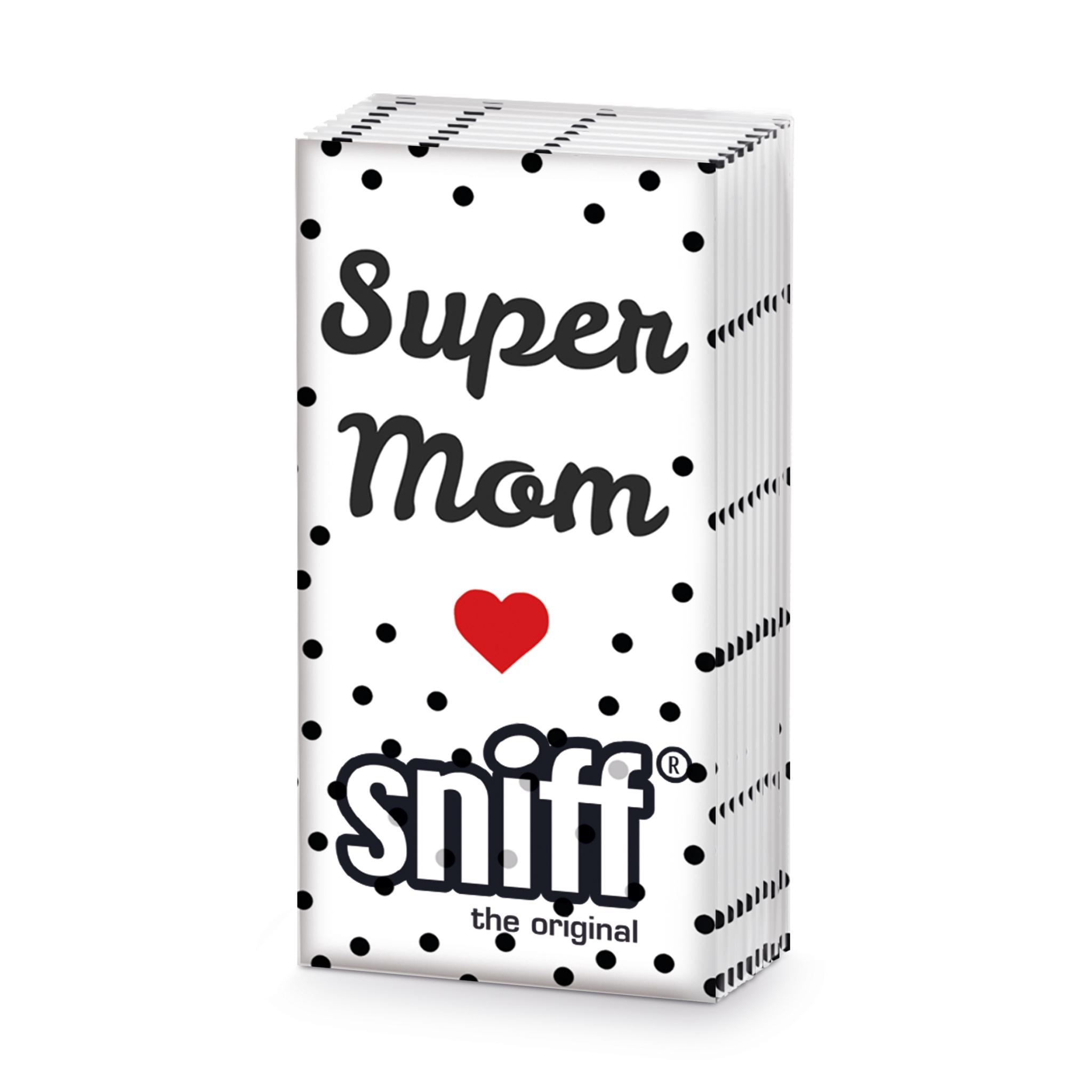 Taschentücher Super Mom