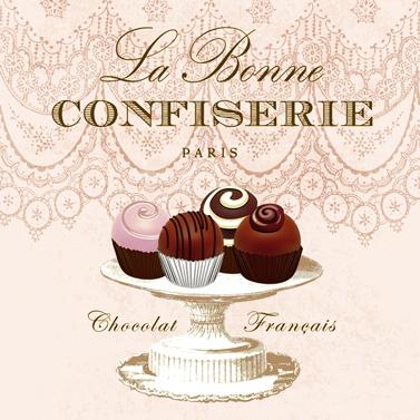 Paperproducts Design,  Essen - Süßigkeiten,  Sonstiges - Muster,  Essen - Pralinen / Schokolade,  Everyday,  lunchservietten