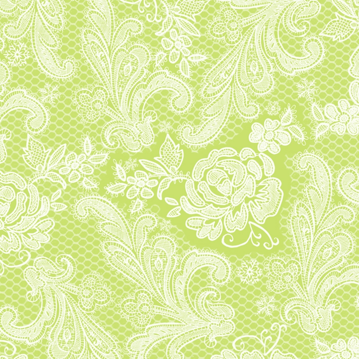 Lunch Servietten Lace Royal pastel lime white     ,   Einfarbige Servietten,   geprägte Servietten,   geprägte Servietten,  Everyday,  lunchservietten