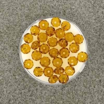 Geschliffene Glasperlen 6 mm,
