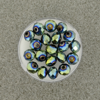 Geschliffene Glasperlen ,