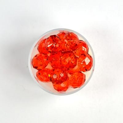 Geschliffene Glasperlen 12 mm,
