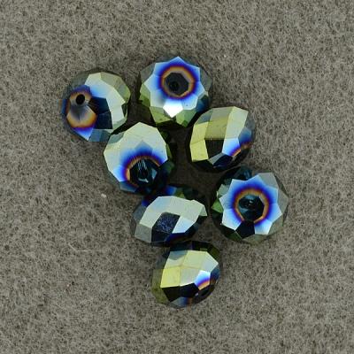 Geschliffene Glasperlen 14 mm,