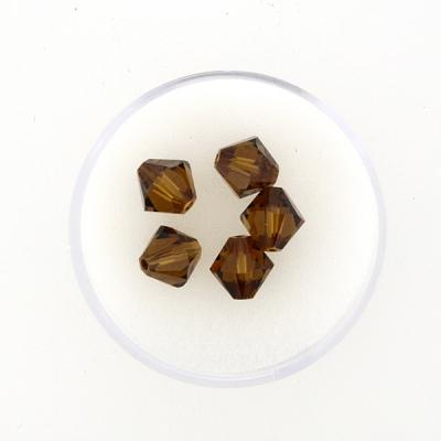 Swarovski Glasschliffperlen 8 mm Doppelkegel,