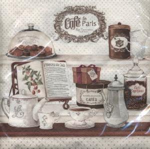 Easy Life,  Regionen - Länder - Frankreich,  Getränke Kaffee / Tee,  Everyday,  lunchservietten