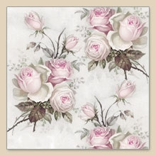 Sagen Vintage design©,  Blumen - Rosen,  Blumen,  Everyday,  lunchservietten