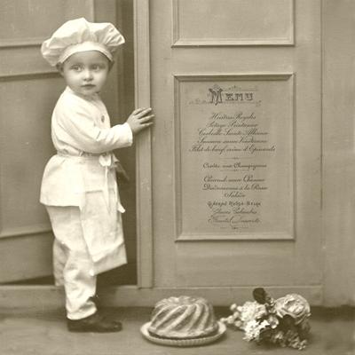 Lunch Servietten Chef
