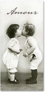 Taschentücher Kissing Babies