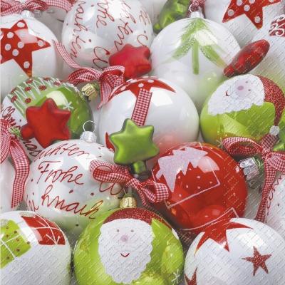 stewo AG,  Weihnachten - Baumschmuck,  Weihnachten,  lunchservietten,  Baumschmuck,  Kugeln