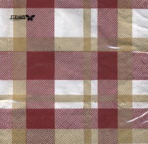 stewo AG,  Sonstiges - Muster,  lunchservietten,  Karos