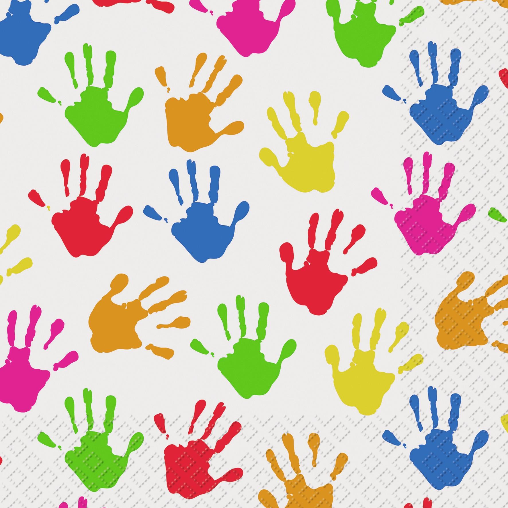 Lunch Servietten Hands FSC
