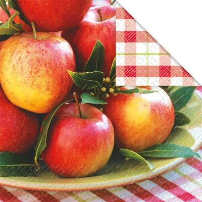 Lunch Servietten Arlet,  Früchte - Äpfel,  Herbst,  lunchservietten