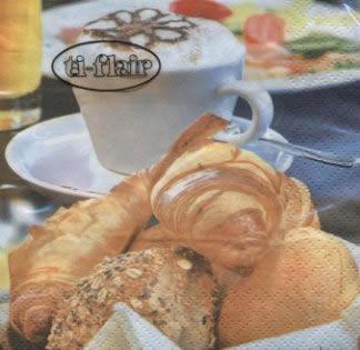 Servietten / Essen,  Getränke Kaffee / Tee,  Essen - Brot / Brötchen,  Everyday,  cocktail servietten,  Frühstück