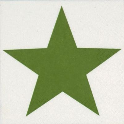 NEU im Shop,  Weihnachten - Sterne,  Everyday,  cocktail servietten,  Sterne,  grün