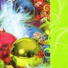 ti-flair,  Weihnachten - Baumschmuck,  Weihnachten,  lunchservietten,  Kugeln