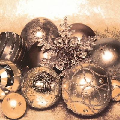 Lunch Servietten Sparkle & Shine,  Weihnachten - Baumschmuck,  Weihnachten,  lunchservietten