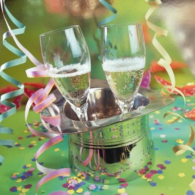 ti-flair,  Ereignisse - Karneval,  Ereignisse - Feier,  Getränke - Wein / Sekt,  Weihnachten,  lunchservietten,  Party,  Geburtstag,  Sekt,  Sektgläser