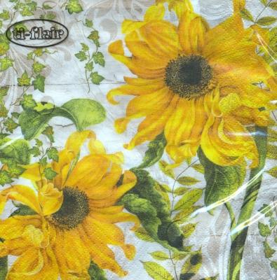 ti-flair,  Blumen - Sonnenblumen,  Herbst,  lunchservietten,  Sonnenblume