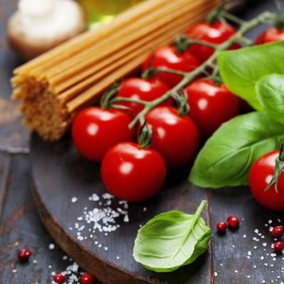 Everyday,  Gemüse - Tomaten,  Essen - Pasta,  Everyday,  lunchservietten,  Nudeln,  Tomaten