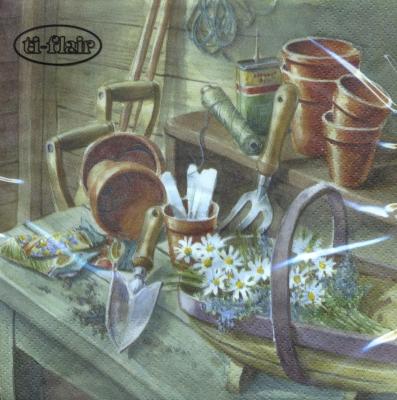 Everyday,  Sonstiges -  Sonstiges,  Everyday,  lunchservietten,  Garten,  Werkzeug