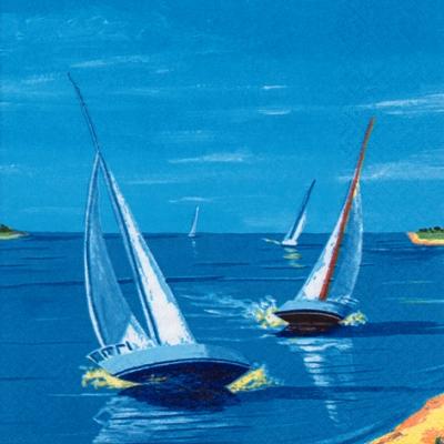Lunch Servietten Sail away