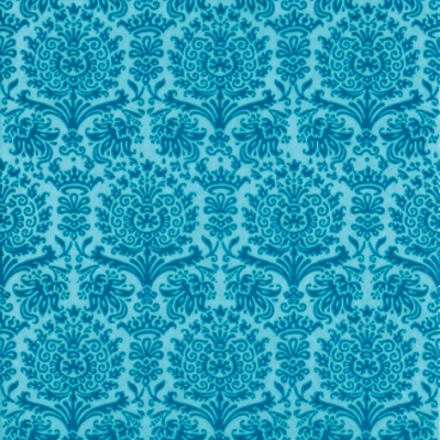 Lunch Servietten Fine Damask turquoise,  Sonstiges - Muster,   Einfarbige Servietten,  Everyday,  lunchservietten